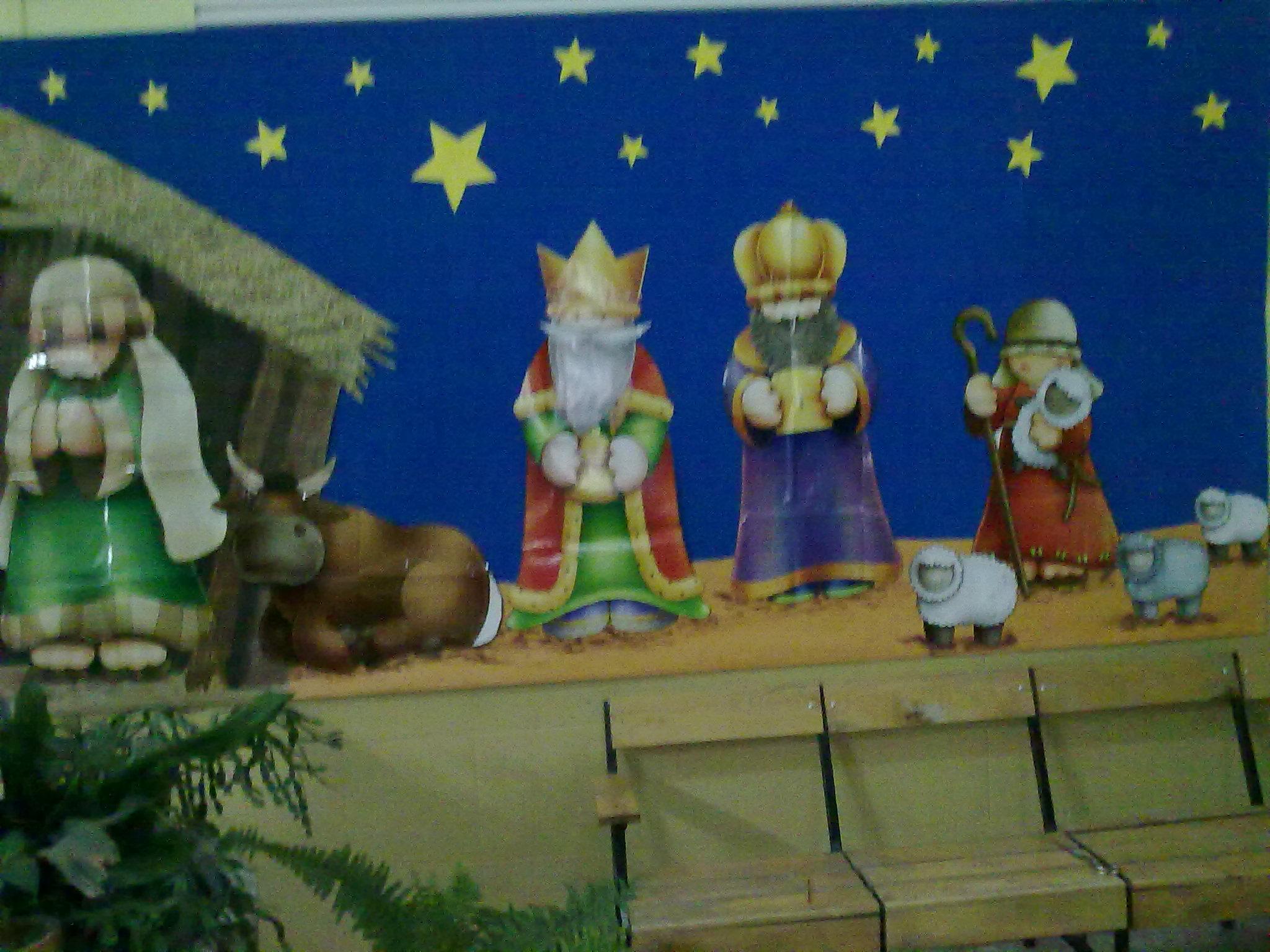 Ceip pe alba - Mural navidad infantil ...